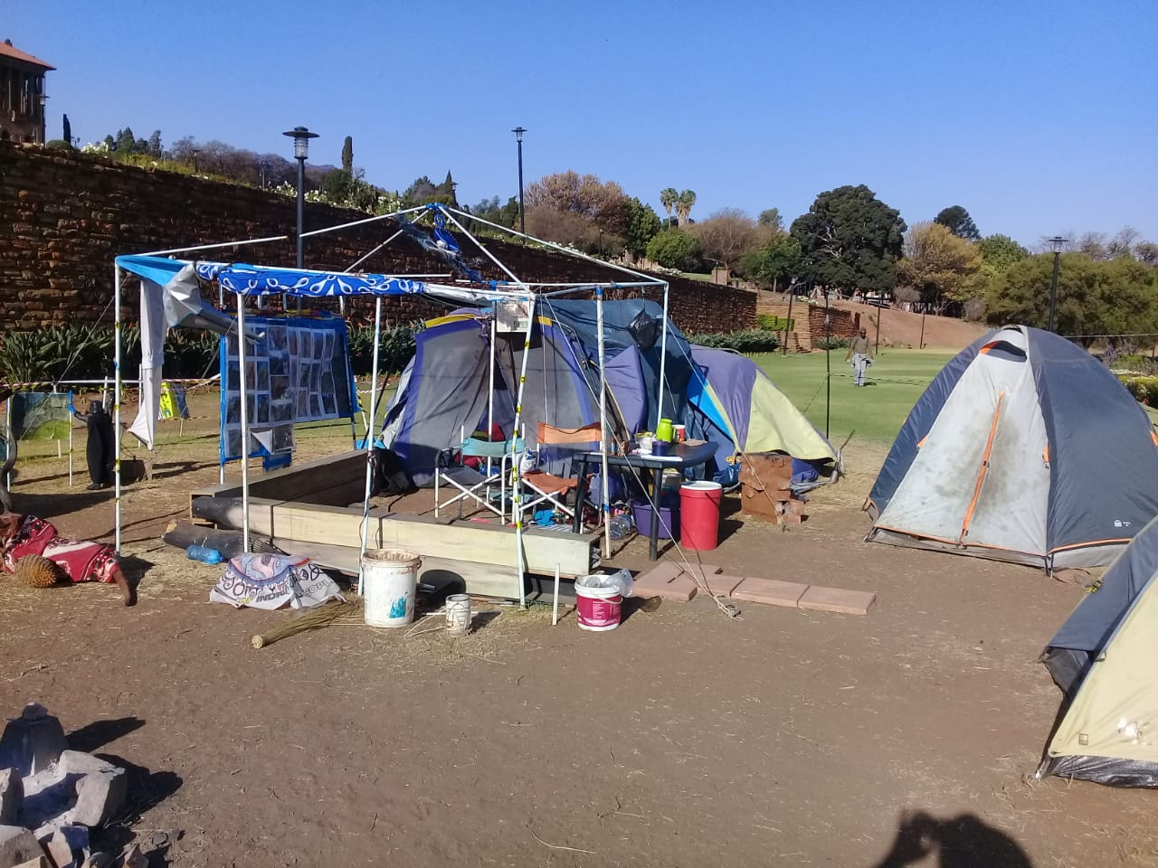 Damage to Tents Sep2019